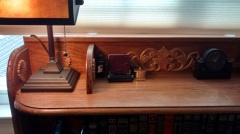 Desk Shelf 1, Detail 1 - Repisa de Escritorio 1, Detalle 1
