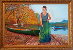 Woman With Canoe (Mujer Con Canoa)
